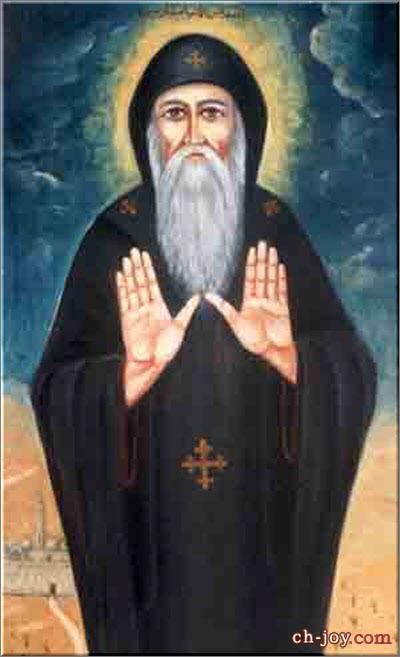 صورة القديس العظيم الأنبا مقار
